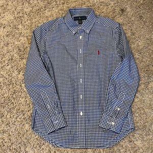 EUC long sleeve button down shirt